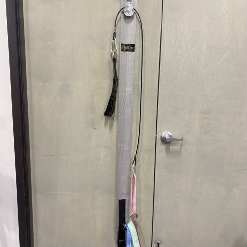 Door Jammer Pulley System w/ Strap and Bands